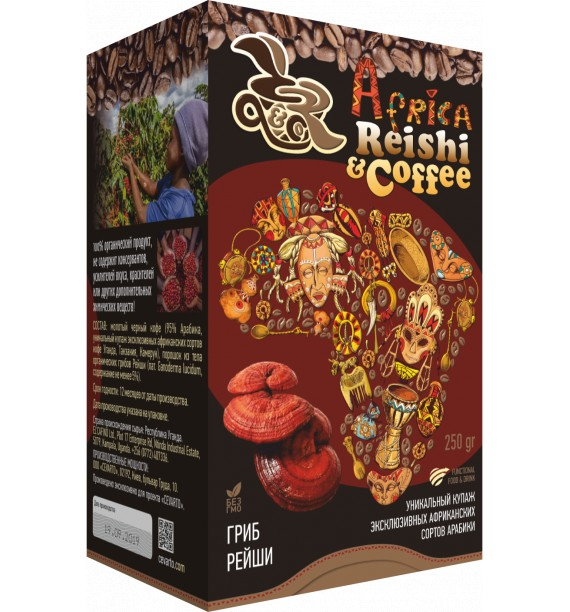 Reishi COFFEE, 250 г (5*50г)